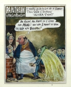 Pantheon Oliver Twist by Martin Rowson