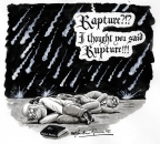 Rationalist Rapture by Martin Rowson