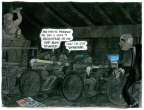 Workfare Galley by Martin Rowson