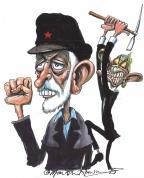 Corbyn Blair by Martin Rowson
