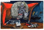 Listening Mode by Martin Rowson
