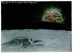Moon Landing 40 Years by Martin Rowson