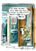 Parsons Bag It & Bin It by Martin Rowson
