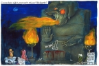 Thatcher Mockery by Martin Rowson