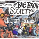 Big Broken Society by Martin Rowson