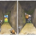 Prosperity by Martin Rowson