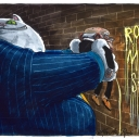 Royal Mail Sale by Martin Rowson