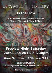 In the Flow - Exhibition Poster - June 2015