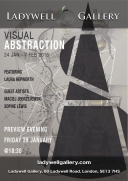 Visual Abstraction - Exhibition Poster